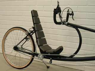 Ground Hugger nojapyörä Recumbent Bicycle